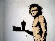 Banksy's Caveman by Lord Jim (Flickr)