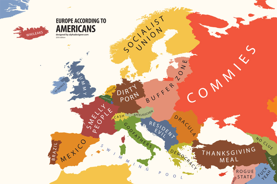 Lessons with Maps 2: Europe According To … « designer lessons